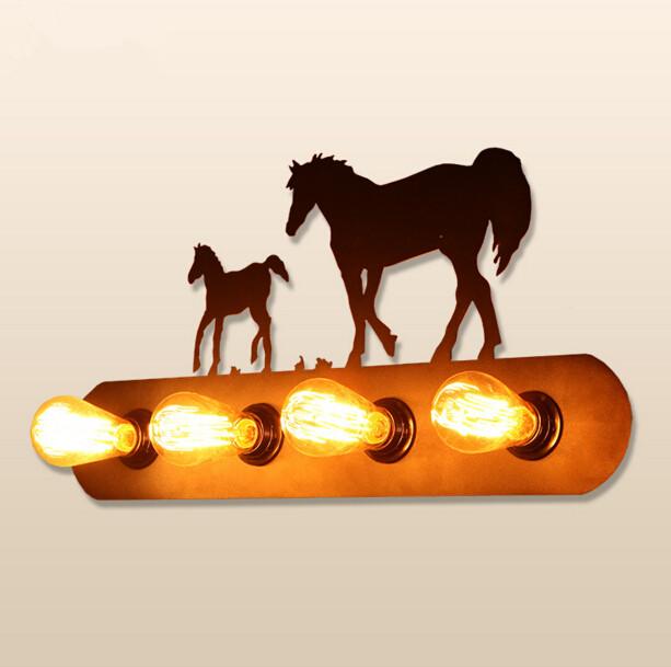 Acquista all'ingrosso online ferro di cavallo lampada da grossisti ...