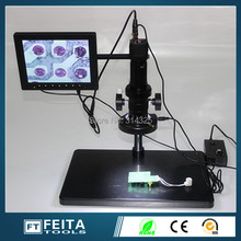 "AV Output ,high speed 130 vga video microscope electronic microscope/8"" LCD digital microscopes(China (Mainland))"