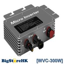 Proofwater 300 W 220 V Micro Inverter Solar sistema de red 22-50VDC RS232 comunicación MPPT energía máximo que sigue Point función