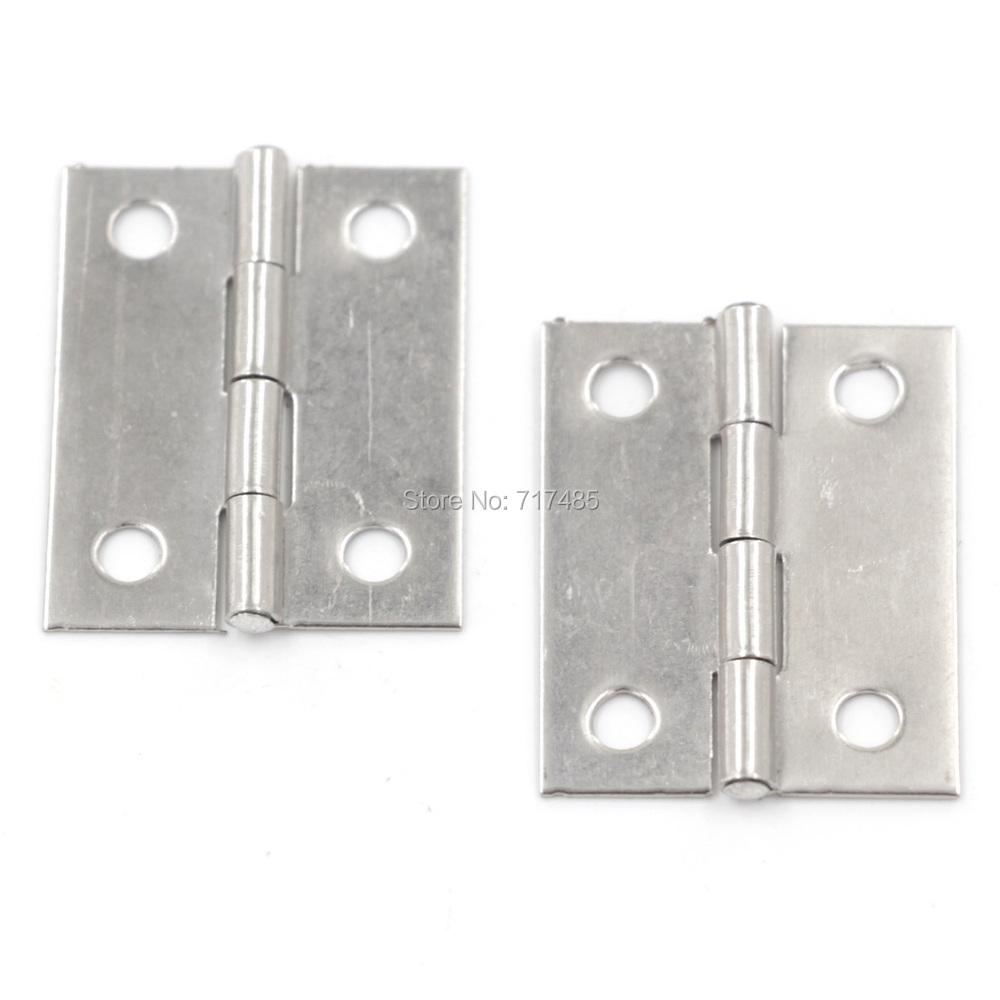 """Stainless Steel Cabinet Door Door Butt Hinges 1.5"""" (100PCS)(China (Mainland))"""
