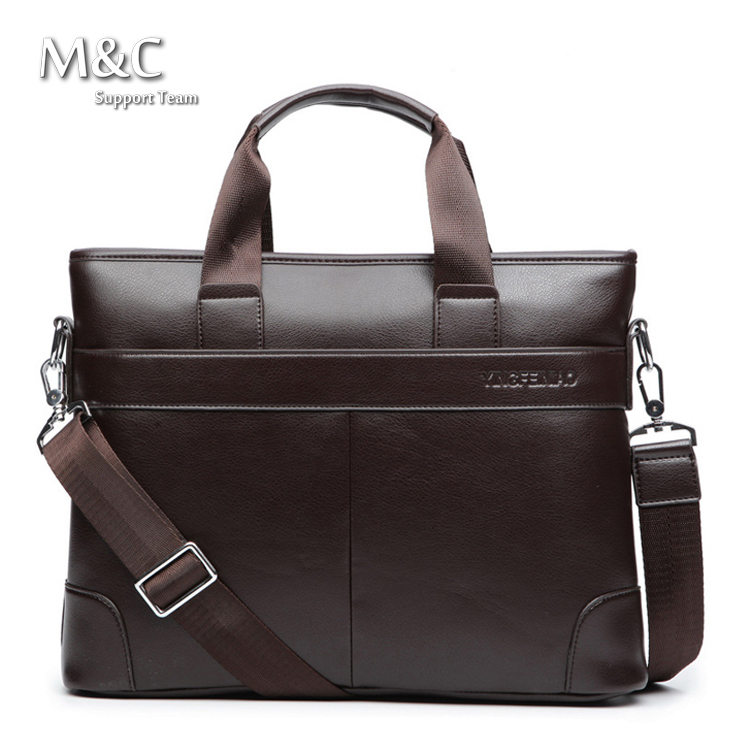 Hot Sale 2016 Genuine Leather Bag Handbag Men's travel bags Luxury Brand Messenger bags Men Briefcases Shoulder Bags OB-007(China (Mainland))