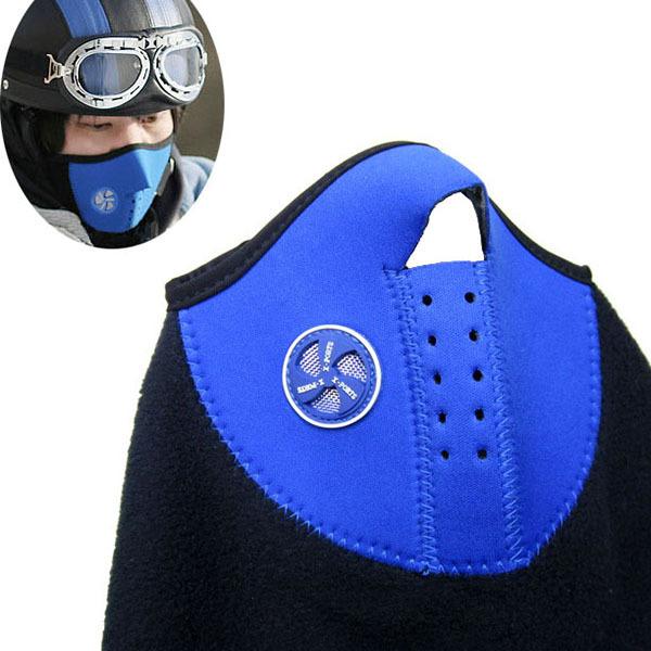 Thermal Neck Warmers Fleece Balaclavas Hat Headgear Winter Skiing Ear Windproof Face Mask Motorcycle Bicycle Scarf