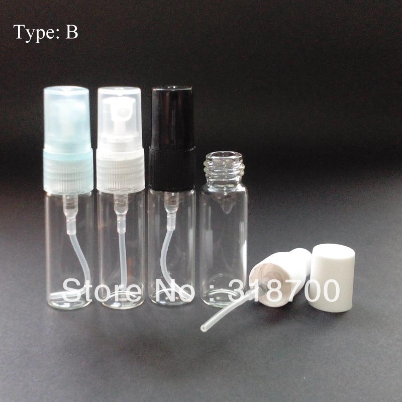50/lot 5ml glass perfume atomizer bottle used for perfume packaging or perfume sprayer(China (Mainland))