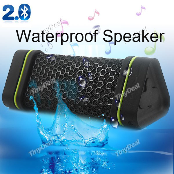 EARSON ER151 Wireless Bluetooth Car Home 4W Stereo Speakers Waterproof Dust-Proof Shockproof Speaker for iphone 6 5s iPod(China (Mainland))