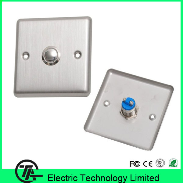 Cheap hot sale 10pcs/lot X05 metal exit button stainless stell door switch(China (Mainland))