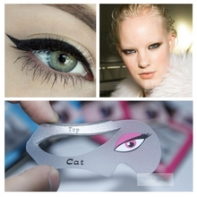 1pc Cat Eyeliner Stencil Makeup Eyeliner Stencils Models Card Auxiliary Makeup Tools Free Shipping