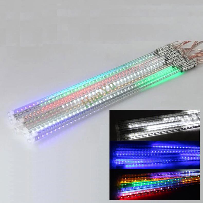 50cm SMD5050 220V 72leds/tube LED snow fall,LED christmas light, waterproof raining tube, led meteor tube free shipping(China (Mainland))