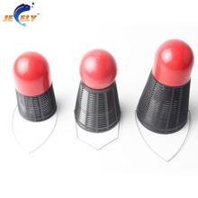 3PCS/lot Carp Fishing Feeder Spod Fishing Bait Thrower badminton shape carp fishing tackle accessories(China (Mainland))