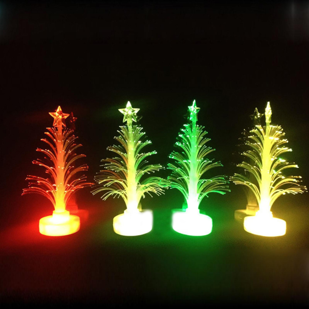 D1U# Christmas Xmas Tree Color Changing LED Light Lamp Home Party Christmas Decoration tree Free Shipping(China (Mainland))