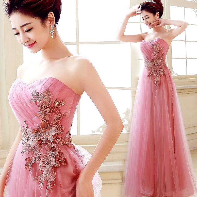 2015 New Women Long Evening Dress Sexy Dresses Elegant ...