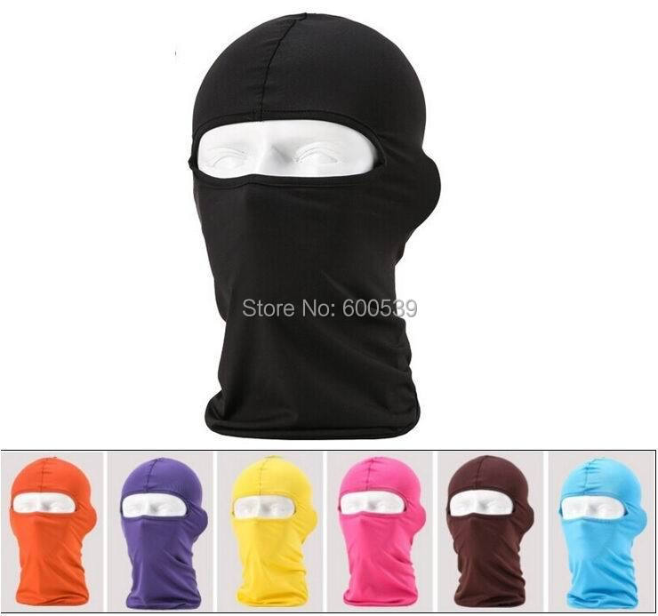 Comfortable Lycra Balaclava Headwear Face Mask Helmet Inner Cap Winter Ski Motorcycle Veil Cotton Full Face Neck Guard Masks(China (Mainland))