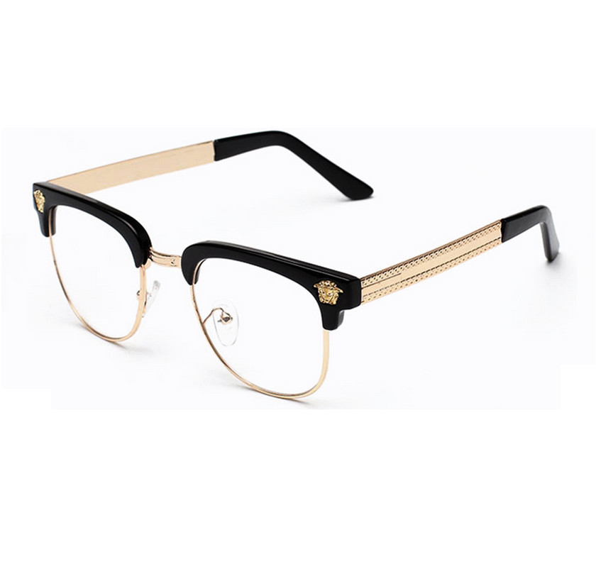 2015 fashion glasses frame sports silhouette eyeglasses vintage optical frames men women myopia What style glasses are in fashion 2015