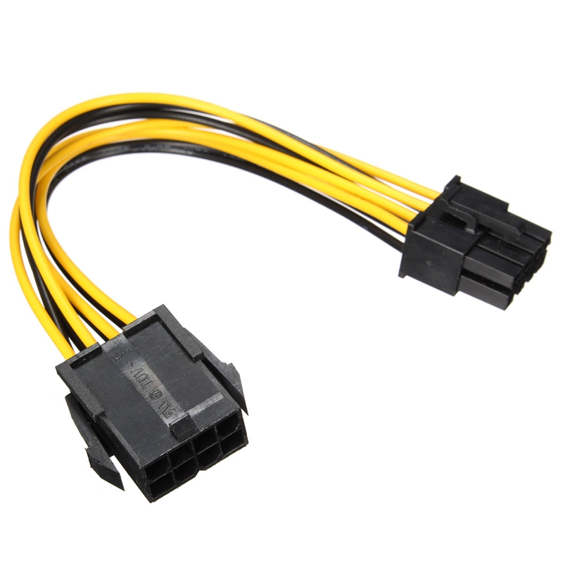 PCI-E 8pin Male to 8 pin Female PCI Express Power Extension Cable for Video Card High Quality(China (Mainland))