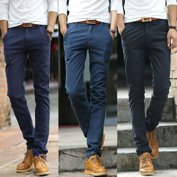 Images of Navy Blue Pants - Klarosa