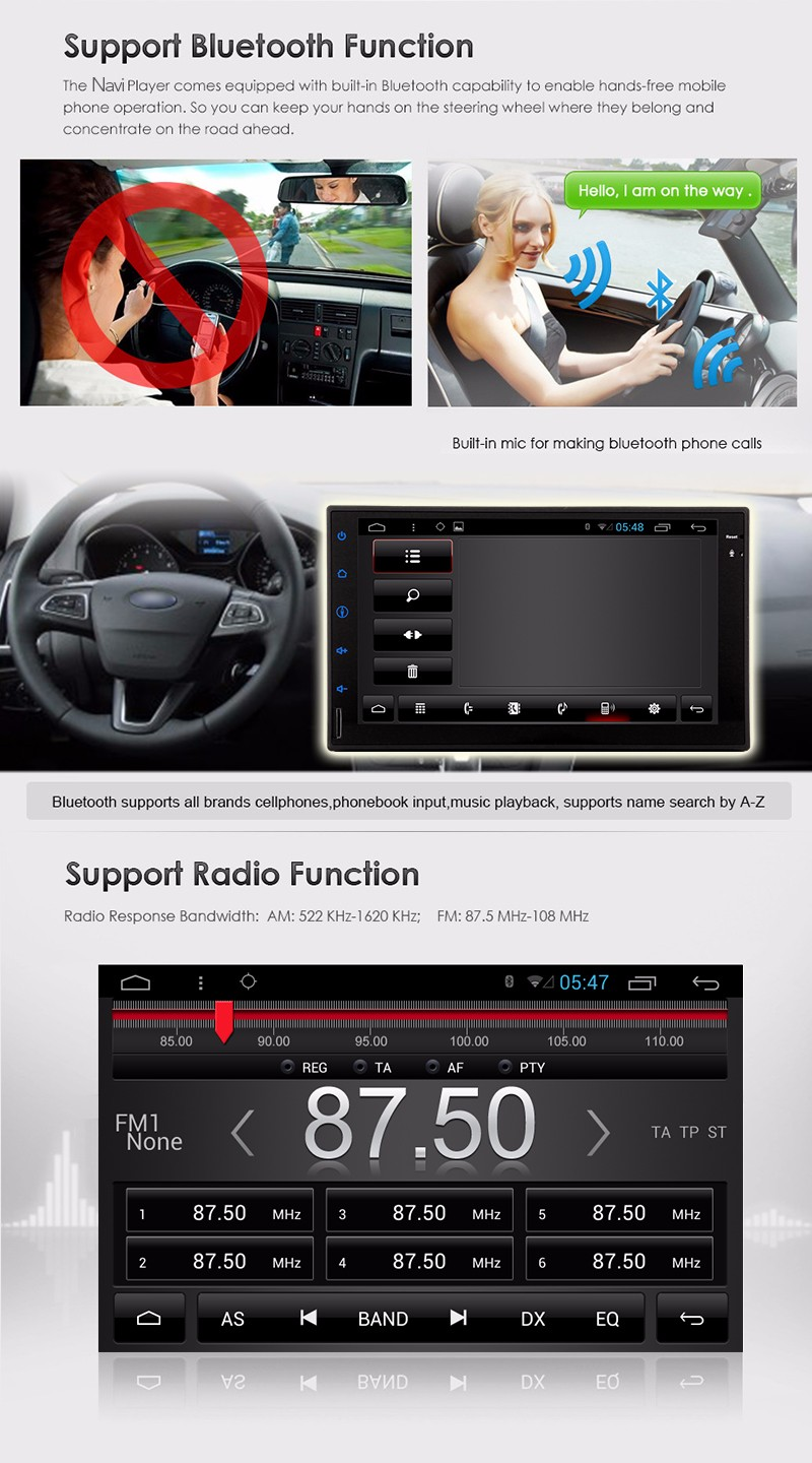 3G/4g Double 2 din android 5.1 Car Autoradio GPS Navigator 2 din car radio recorder GPS Navigation In dash Car PC Stereo video