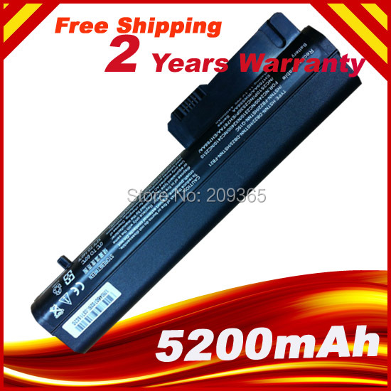 Laptop Battery For HP 2533t Mobile Thin Client EliteBook 2540p 2530p For COMPAQ 2400 nc2400 nc2410 2510p KU529AA RW556AA(China (Mainland))
