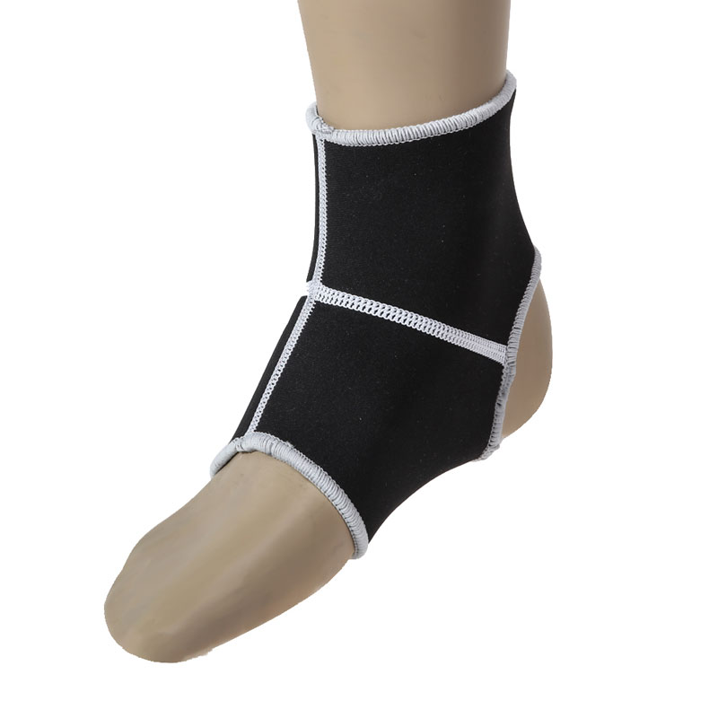 Hot Sale Ankle Brace Support Pad Guard MMA Foot Muay Thai Boxing Gym Sporteg Arthritis Injury Gym Sleeve Elasticated Bandage Pad(China (Mainland))