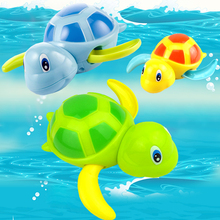 1pc Baby Toys Little Turtle Bath Toys Swimming Animal Water Toys for Boys Girls Children High Quality