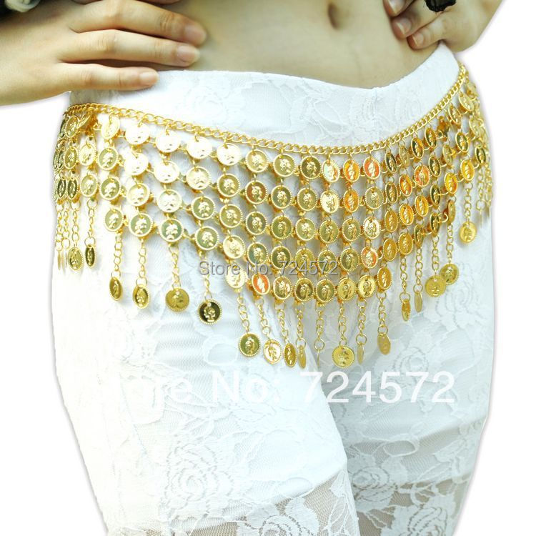 New arrival indian dance belly chain round coins belly dance pyramid metal belly chainОдежда и ак�е��уары<br><br><br>Aliexpress