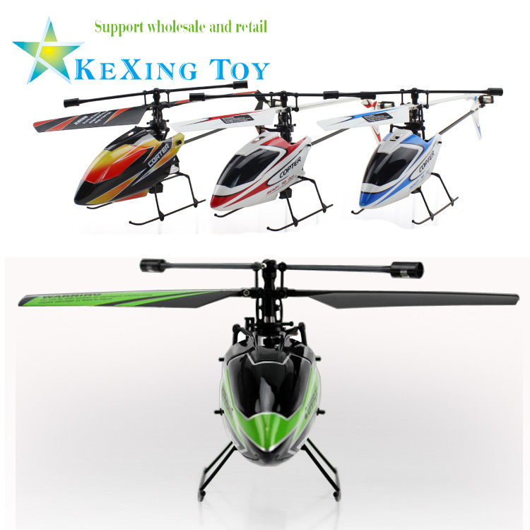 Hot Products Advanced 3D model WL RC helicopter remote control best gift v911 4ch single propeller helicopter ftee shipping(China (Mainland))