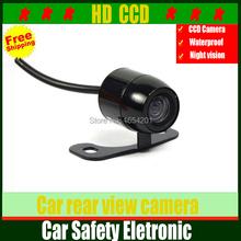 Wholesale Waterproof HD car rear view camera car rear camera backup reverse camera parking assistance for car mirror,monitor DVD(China (Mainland))
