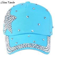 Kids Hats Stylish Rhinestone Five-Point Stars Printed Kids Winter Hats Bonnet Enfant #2369(China (Mainland))