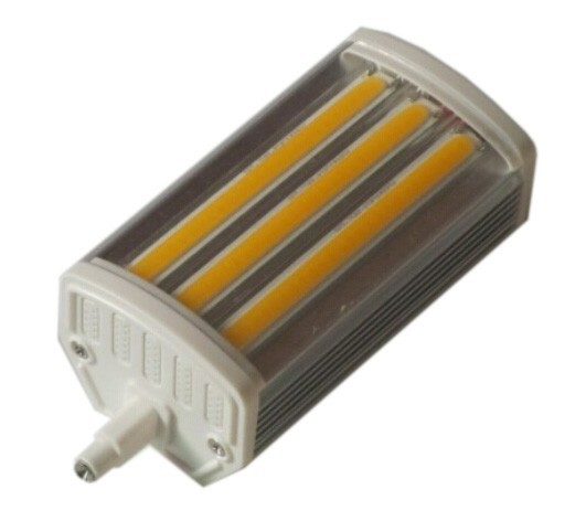 10PCS DHL free shipping r7s led 118mm 15W dimmable cob light Lamps 3 years warranty Three colors selectable customized 10pcs/lot(China (Mainland))
