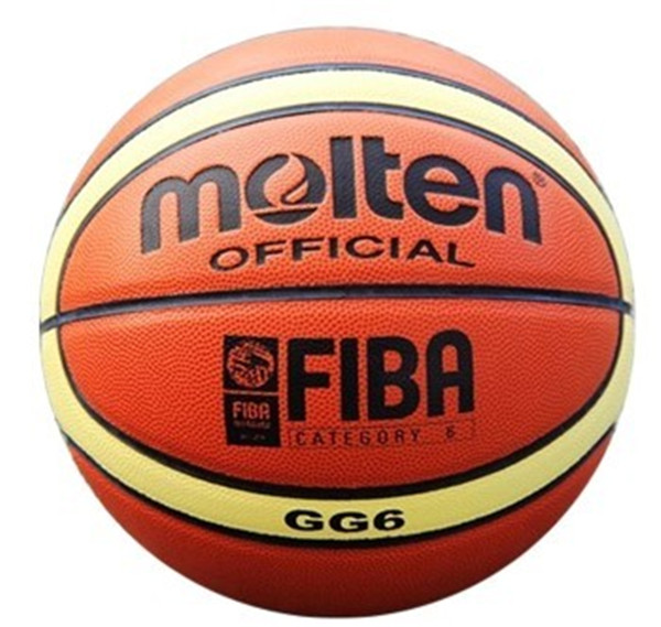 NEW Brand High Quality Genuine Molten GG6 Basketball Ball PU Materia Official Size6 Basketball Free With Net Bag+ Needle+Pump(China (Mainland))