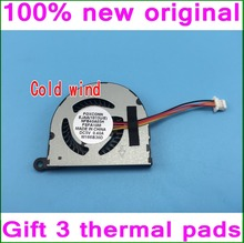 Gift 3 thermal pad For ASUS EeePc 1011 1011PX 1015 1015BX 1015P 1015PE 1015PW 1015PX 1015PEB Cooling fan NFB40A05H or KSB0405HB