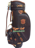 New HONMA Golf bags High quality PU Golf Cart bag with brown colors 9.5 inches Golf equipment Free shipping
