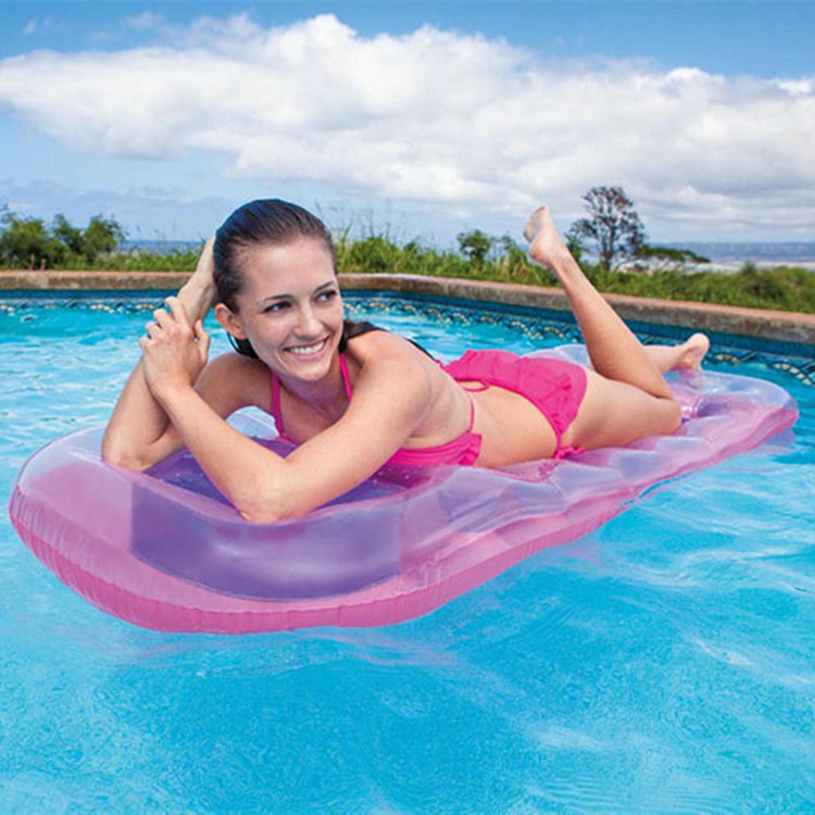 188*71cm Inflatable Pool Floating Chair Floating Bed Floating Water Mat Seat Air Matress Water for Holidays Sport Swimming(China (Mainland))