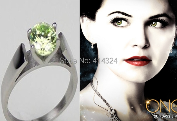 Vogue 1pc 925 sterling silver once upon a time mary for Snow white wedding ring once upon a time