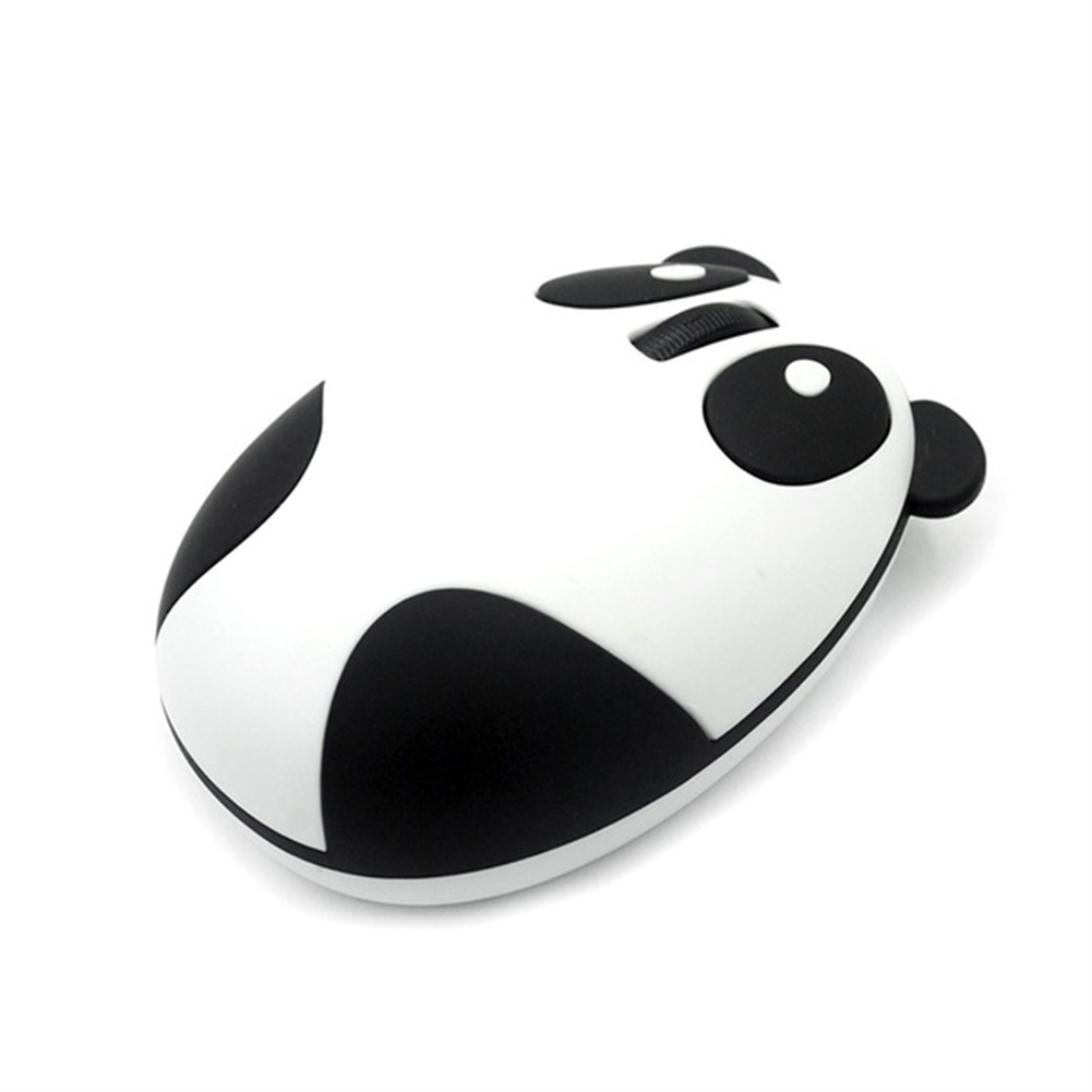 2016 New Fashion 2.4GHz Wireless Optical Panda Computer Mouse Mice for Win/Mac/Linux/Andriod/IOS High quality ABS Material(China (Mainland))