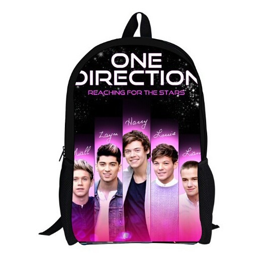 Fashion One Direction Printing Backpack For Kids Cool Children School Bags For Boys Students Sport Schoolbags Mochila Feminina(China (Mainland))