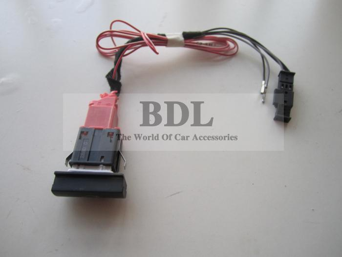 OEM Skoda Octavia Trunk Auto Open Switch/Button With Harness 1ZD 927 127(China (Mainland))