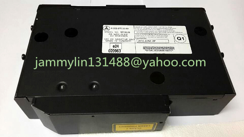 100%Original new Alpine 6 CD changer A2038703389 for Mercedes W220 S430 S500 CD WECHSLER MC3330 MC3520 car radio made in hungary(China (Mainland))