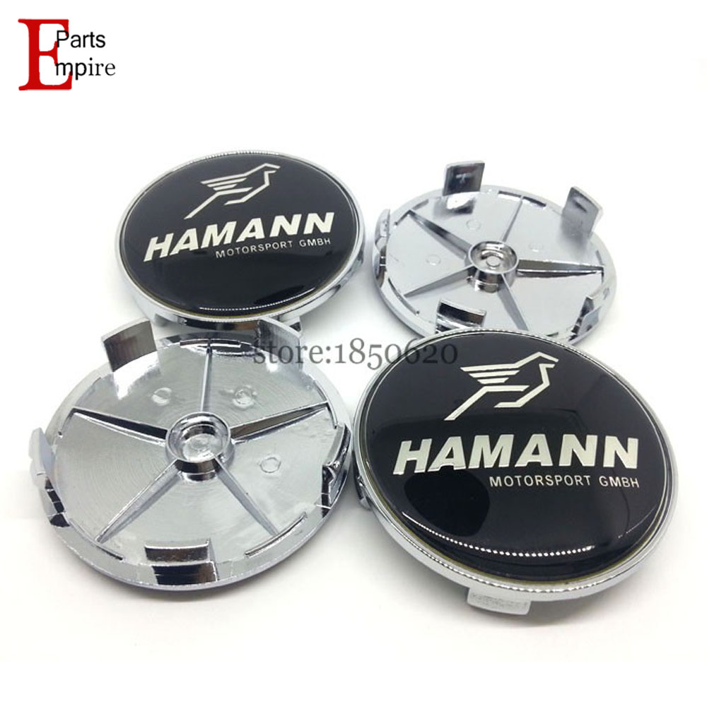 Auto Supplies 20pcs/lot for BMW HAMANN Logo 68mm Wheel Center Caps Badge Car Styling For BMW X3 X5 E36 E39 E60 E90 F10 F30 Etc.(China (Mainland))