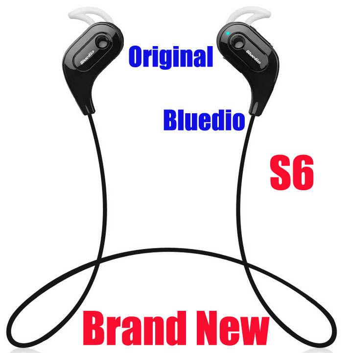 Bluedio Energy S6 Sports Bluetooth Headset Stereo Earbuds Earphone Wireless Headphones Built-in Microphone Water/Sweat Proof - Shenzhen Hongze Techonology Ltd store