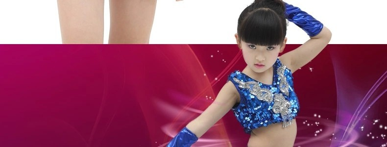 Hotsale Girls Modern jazz dance costume boys dance suit jazz Dancewear Birthday Gift kids perfect performance stage wear XC-186