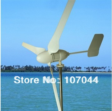 600W 48V Household Horizontal Wind Turbine,Used in Hybrid Wind/Solar Street Light(China (Mainland))