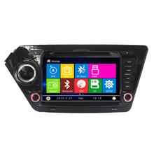 Бесплатная доставка DVD GPS навигации система для Kia K2 рио 2011 2012 SD USB gps-rds IPOD аналоговое тв телефонной книги Bluetooth громкой связи