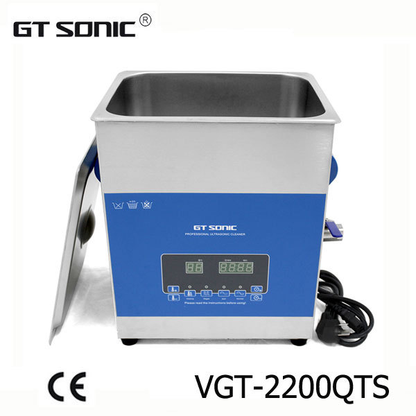 13L Industrial digital ultrasonic cleaner with dual power, with free basket for fuel injector, nozzle cleaning GT-2200QTS(China (Mainland))