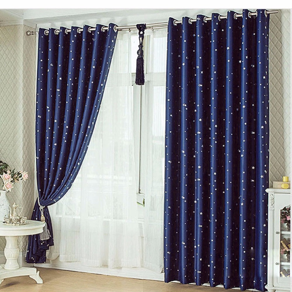 aliexpress rideaux floral embroidered curtains for living room korean style blackout window. Black Bedroom Furniture Sets. Home Design Ideas