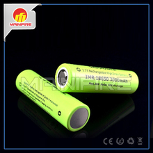 Hot sale Vappower IMR18650 3000mah 3.7V 30A rechargeable battery with flat top(1 pc)(China (Mainland))