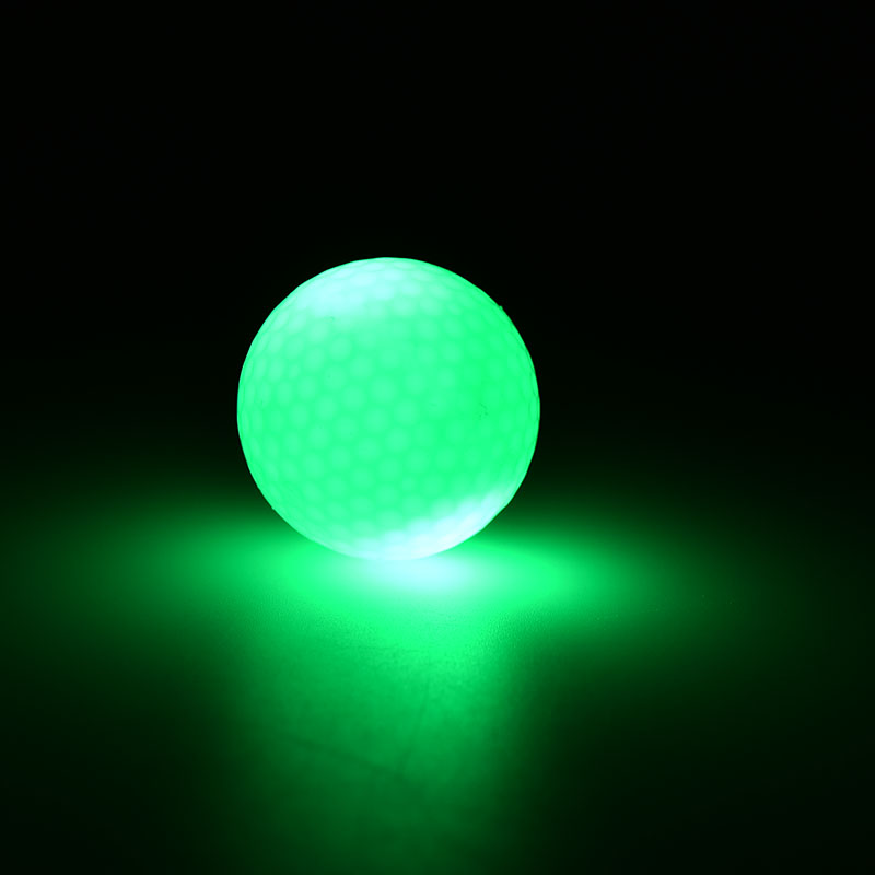 1Pc Newest Day And Night Golfing Practicing Small Light Up Flashing Glowing LED Electronic Golf Balls(China (Mainland))