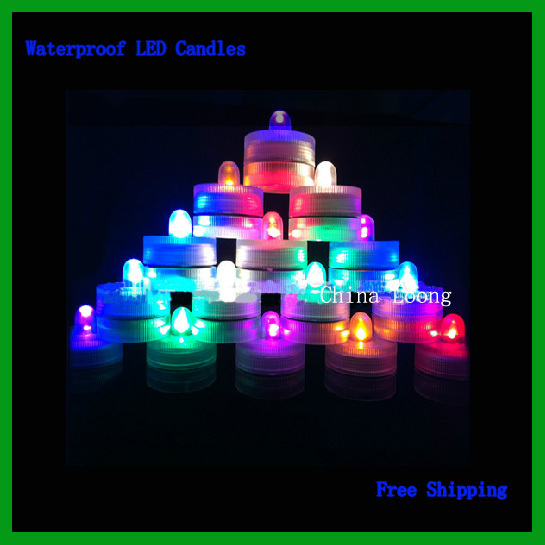 Free Shipping!!Wedding Candle Is A Flameless Candles,In The Night Will Be Particularly Beautiful