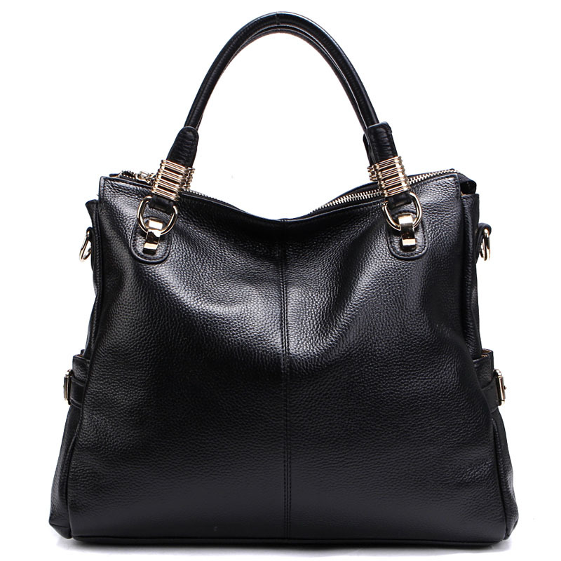 Hot selling 2013  limited edition cowhide leather women handbag wear-resistant all-match  genuine leather bag messenger bag tote<br><br>Aliexpress