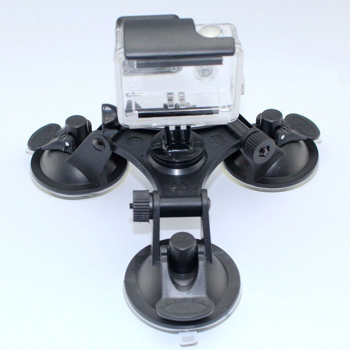 3 Feets suction cup accessories the glass of the sucker car window mount for xiaomi yi Gopro hero4 3 2 sj4000 Go pro Aksesoris