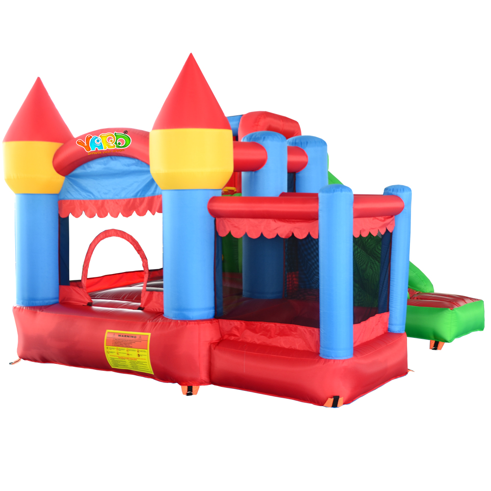 YARD Inflatable Bouncy Castle Combo Slide Ball Pit Home Use Bouncers Kids Fun Park Special Offer for European Countries(China (Mainland))