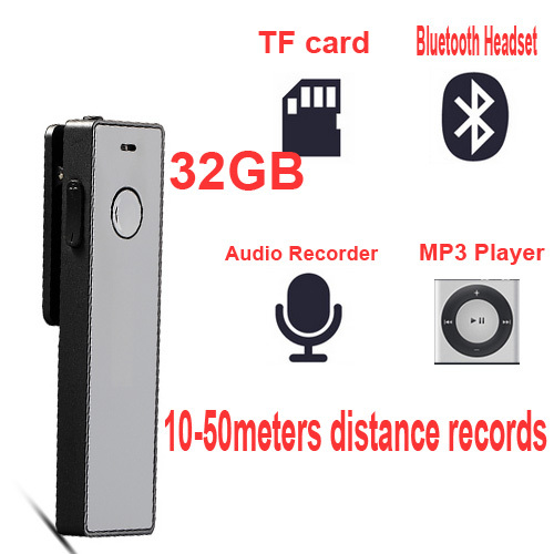 32GB music player 4 in one bluetooth headphone card reader digital voice audio recorder voice recorder 8GB save 1360H MP3 player(China (Mainland))